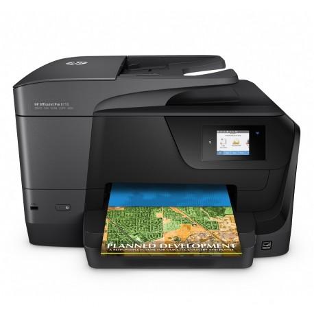 HP Multifuncional Officejet Pro 8710 Negro - Envío Gratuito