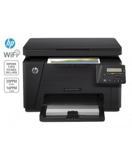 HP Laserjet Pro MFP M176N Multifuncional a color Negro