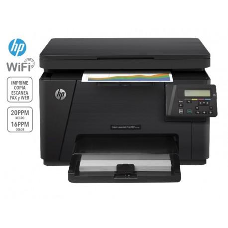 HP Laserjet Pro MFP M176N Multifuncional a color Negro - Envío Gratuito
