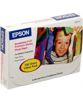 Epson Papel Photo brillante S B 4x6 100