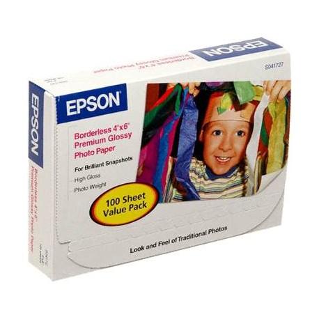 Epson Papel Photo brillante S B 4x6 100 - Envío Gratuito
