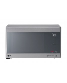 LG Horno de microondas /grill con capacidad de 1.5 pies cúbicos sistema inverter con acabado espejo Plata