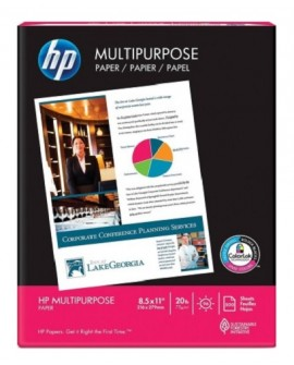 HP Papel multiproposito ultra Blanco