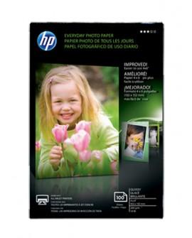 "HP Papel Photo Brillante 4 x 6"""