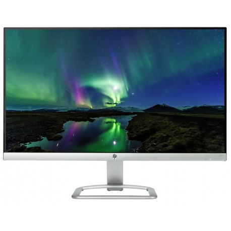 "HP Monitor FHD de 24"" Technicolor Plata - Envío Gratuito"