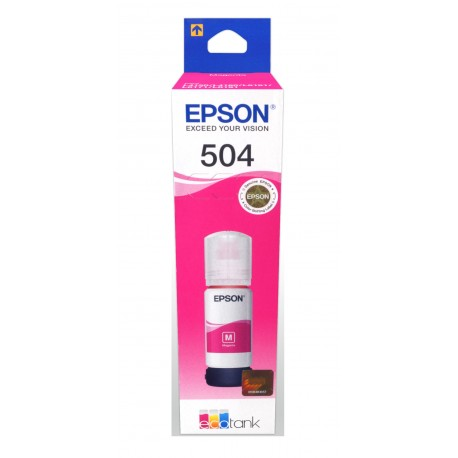 Epson Botella de tinta T504 Magenta - Envío Gratuito