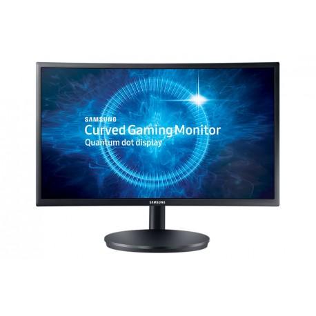 Samsung Monitor Gamer de 24 Curvo Negro - Envío Gratuito