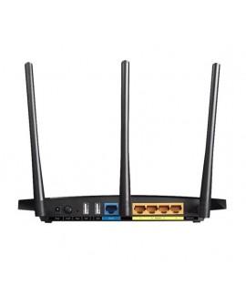 TP-LINK Router inalámbrico Wi-Fi Gigabit AC1200 Negro - Envío Gratuito