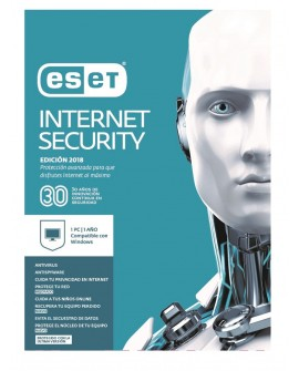 ESET Internet Security 1 Licencia 1 Año V2018
