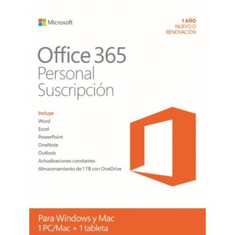 Microsoft Office 365 Personal 1 año Windows /Mac - Envío Gratuito