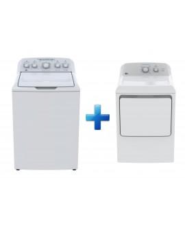 Easy Paquete de lavadora y secadora de 19 kg Blanco