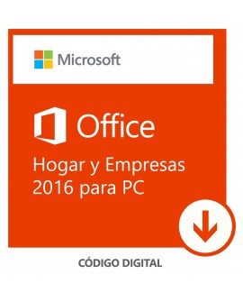 Software Descargable Microsoft Office Home & Business 2016 Blanco - Envío Gratuito