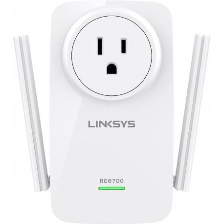 Linksys Expansor de rango AC1200 Dual band LKS RE6700 Blanco - Envío Gratuito