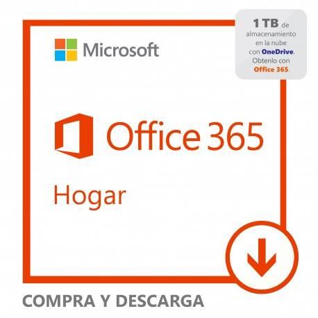 Software Descargable Microsoft Office 365 Home Blanco - Envío Gratuito