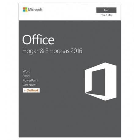 Microsoft Office 2016 Home & Business 1 Usuario Mac - Envío Gratuito