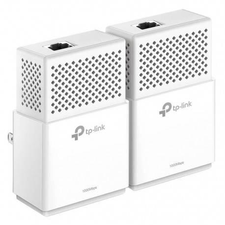 TP-LINK KIT Adaptador de Red Powerline AV1000 GB Blanco - Envío Gratuito