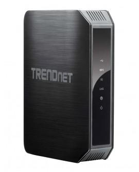 TRENDnet Router wireless doble banda AC1200 TEW-813DRU Negro