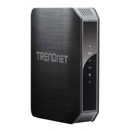 TRENDnet Router wireless doble banda AC1200 TEW-813DRU Negro - Envío Gratuito