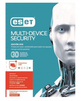 ESET MultiDevice Security 5 Licencias 1 Año V2018