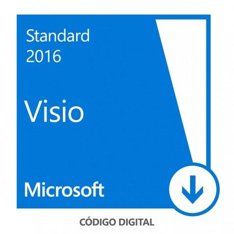 Microsoft Visio Standard 2016 All Languages - Envío Gratuito