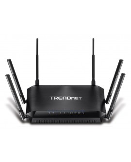 TRENDnet Router wireless triple banda AC3200 TEW-828DRU Negro