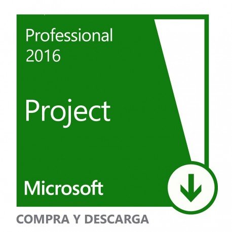 Microsoft Project Professional 2016 All Languages - Envío Gratuito