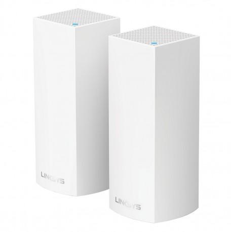 Linksys Sistema WiFi Roaming Velop 2pk Blanco - Envío Gratuito