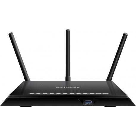 NetGear Nighthawk AC 1750 4 puertos LAN Negro - Envío Gratuito
