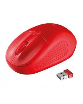 Trust Mouse inalámbrico 20787 Rojo