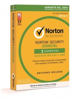 Norton Security Esencial 1 Año 1 dispositivo
