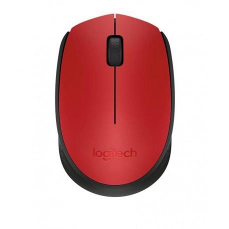 Logitech Mouse inalámbrico M170 Rojo - Envío Gratuito