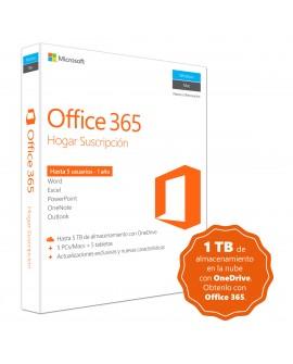 Microsoft Office 365 Home Premium 1 Año Windows