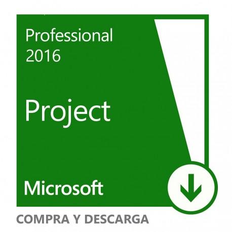 Microsoft Project 2016 Win All Languages - Envío Gratuito