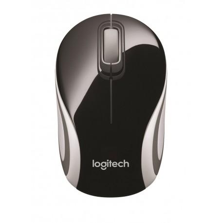Logitech Mini mouse inalámbrico M187 Negro - Envío Gratuito