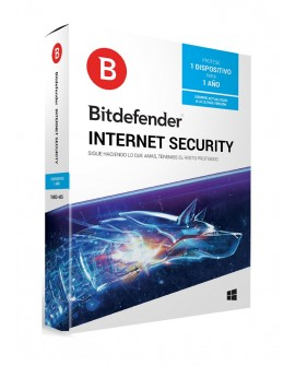 Bitdefender Internet Security 1 Año 1 usuario