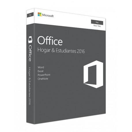 Microsoft Office 2016 Home & Student 1 Usuario Mac - Envío Gratuito
