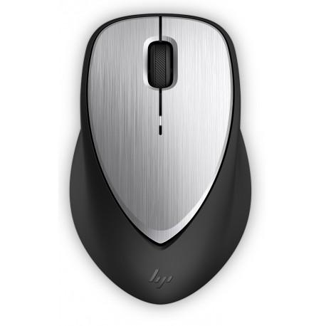 HP Mouse HP 500 Envy Recargable Plata/Negro - Envío Gratuito