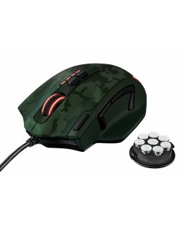 Trust Mouse Gaming Camuflaje Verde