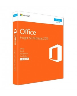 Microsoft Office 2016 Home y Business 1 Usuario PC