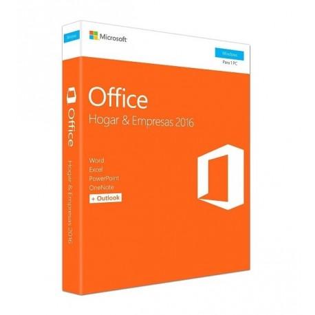 Microsoft Office 2016 Home y Business 1 Usuario PC - Envío Gratuito