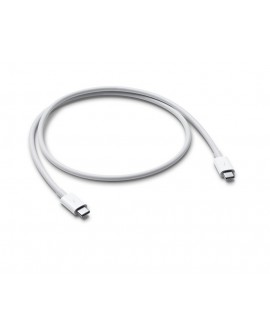Apple Cable Thunderbolt 3 USB C de 0.8 m Blanco - Envío Gratuito