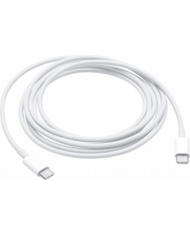 Apple Cable de carga USB C (2m) Blanco - Envío Gratuito