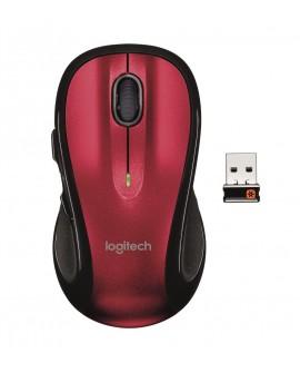 Logitech Mouse Inalámbrico M510 Rojo/Negro