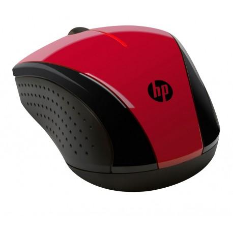 HP Mouse inalámbrico HP X3000 Blister Rojo - Envío Gratuito