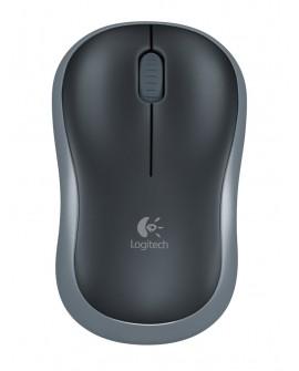 Logitech Mouse inalámbrico M185 Negro