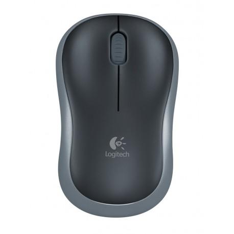 Logitech Mouse inalámbrico M185 Negro - Envío Gratuito