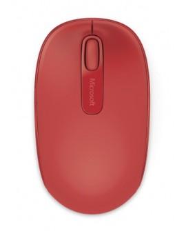 Microsoft Mouse inalámbrico 1850 Rojo