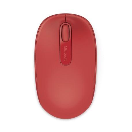 Microsoft Mouse inalámbrico 1850 Rojo - Envío Gratuito