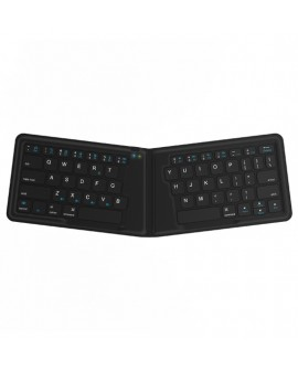 Kanex Teclado Mini Plegable Bluetooth Negro