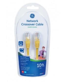 GE Cable de red cruzado 96209 de 3 m Amarillo